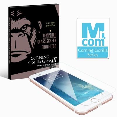 Mr.com 康寧0.21mm超薄9H玻璃保護貼- iPhone6 Plus