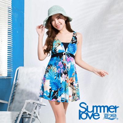 夏之戀SUMMERLOVE 比基尼泳裝 連身褲裙泳衣