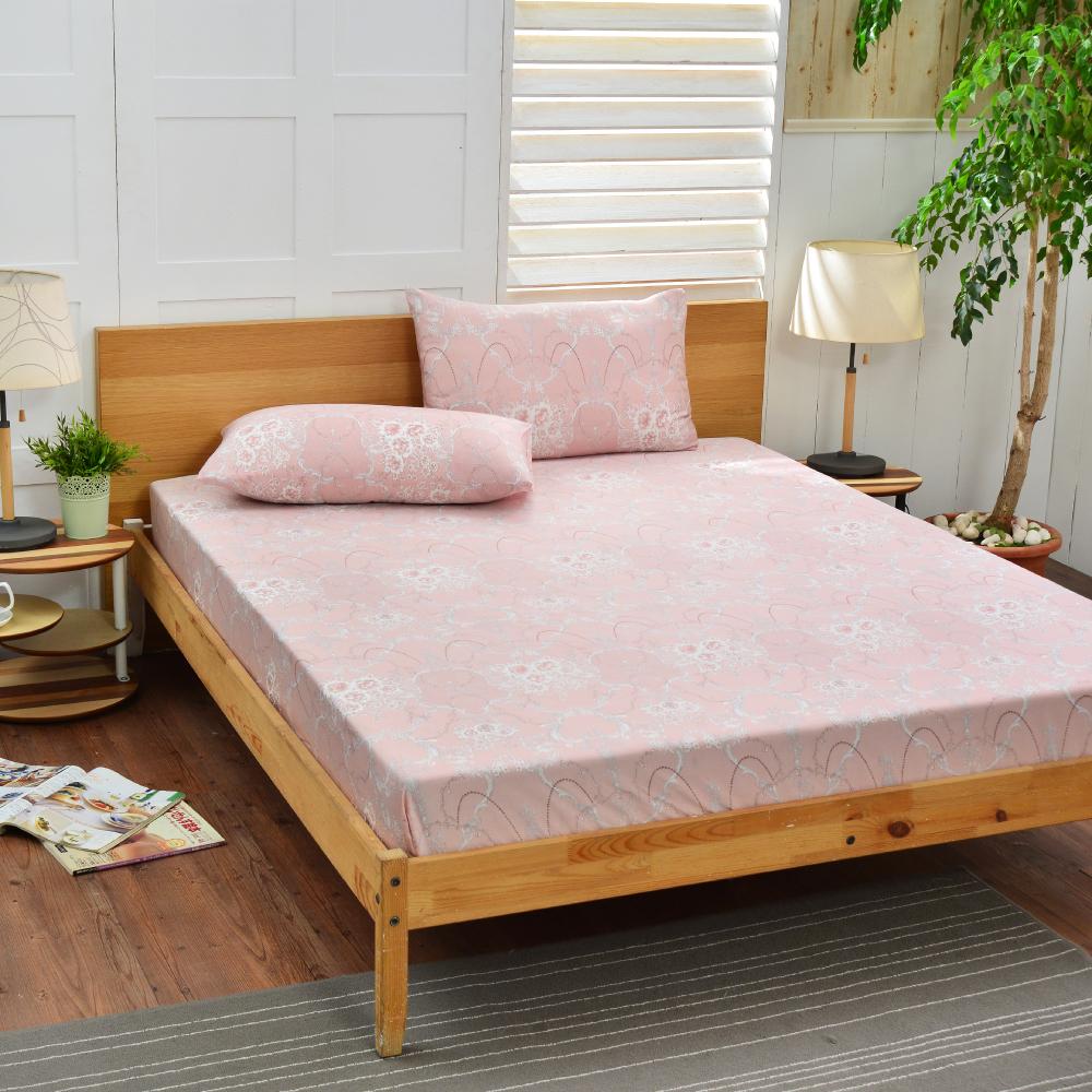 Saint Rose 貝里尼 雙人100%純天絲枕套床包三件組