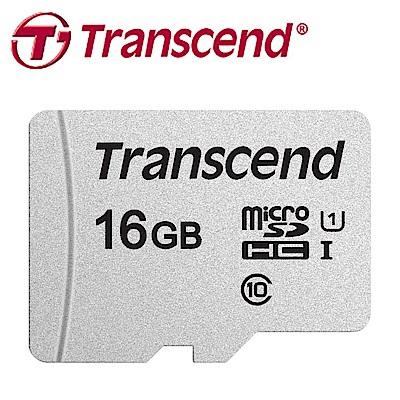 創見 16GB 300S microSDHC UHS-I U1 記憶卡