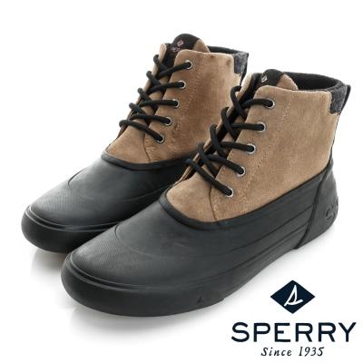 SPERRY 帥氣必備中高筒防水獵鴨靴(男)-棕/黑