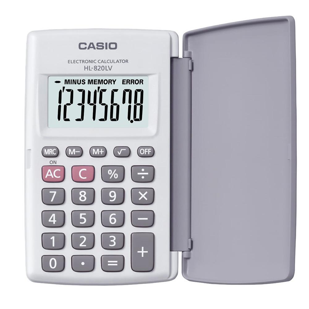 CASIO 8位數輕薄掀蓋式硬殼商務計算機(國家考試專用機種)