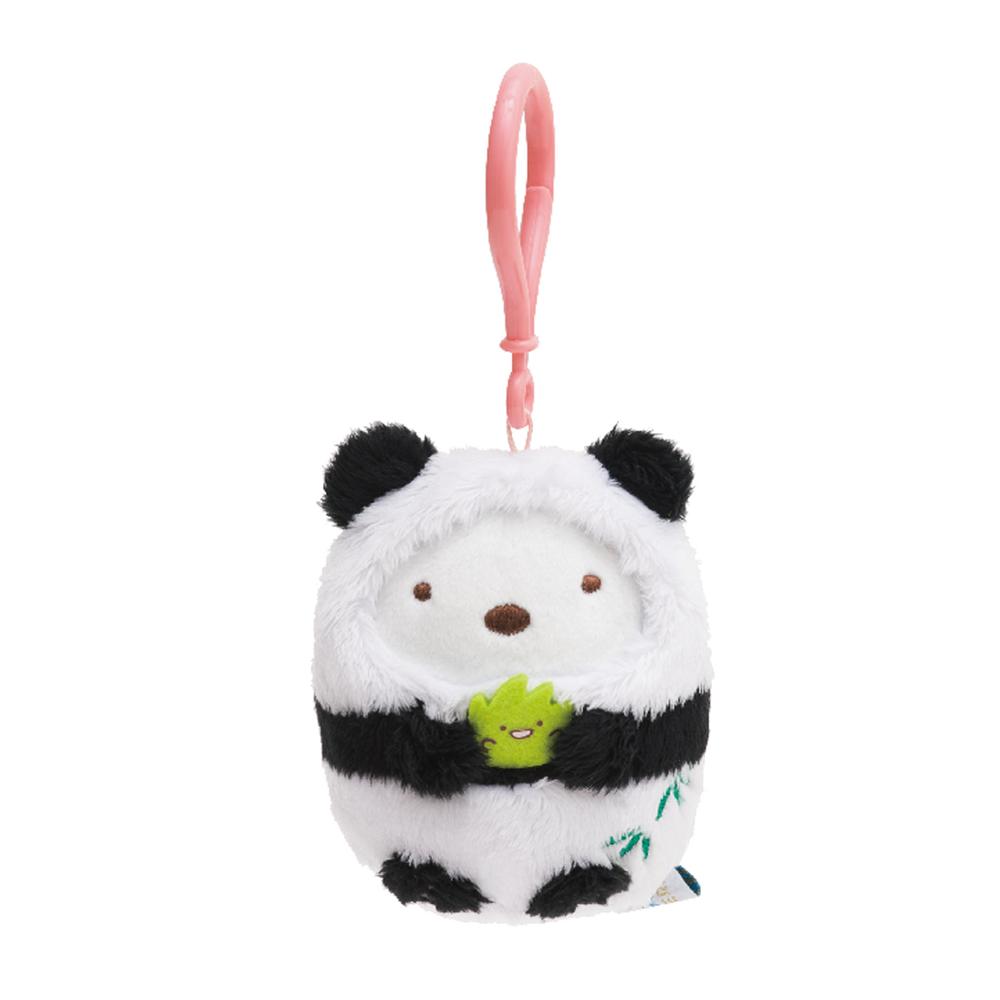 角落公仔環遊世界海外限定版公仔吊飾 白熊君 中國熊貓 San-X
