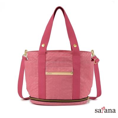 satana - 旅行趣伸縮手提袋 - 歡喜玫瑰