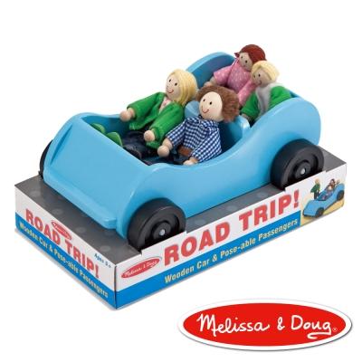 美國瑪莉莎 Melissa & Doug 家庭汽車組