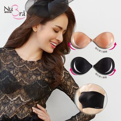 NuBra-隱形胸罩-鋼圈款-短版小可愛-黑