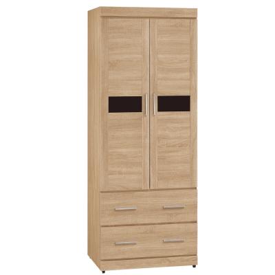 Boden-維達3尺二門二抽衣櫃