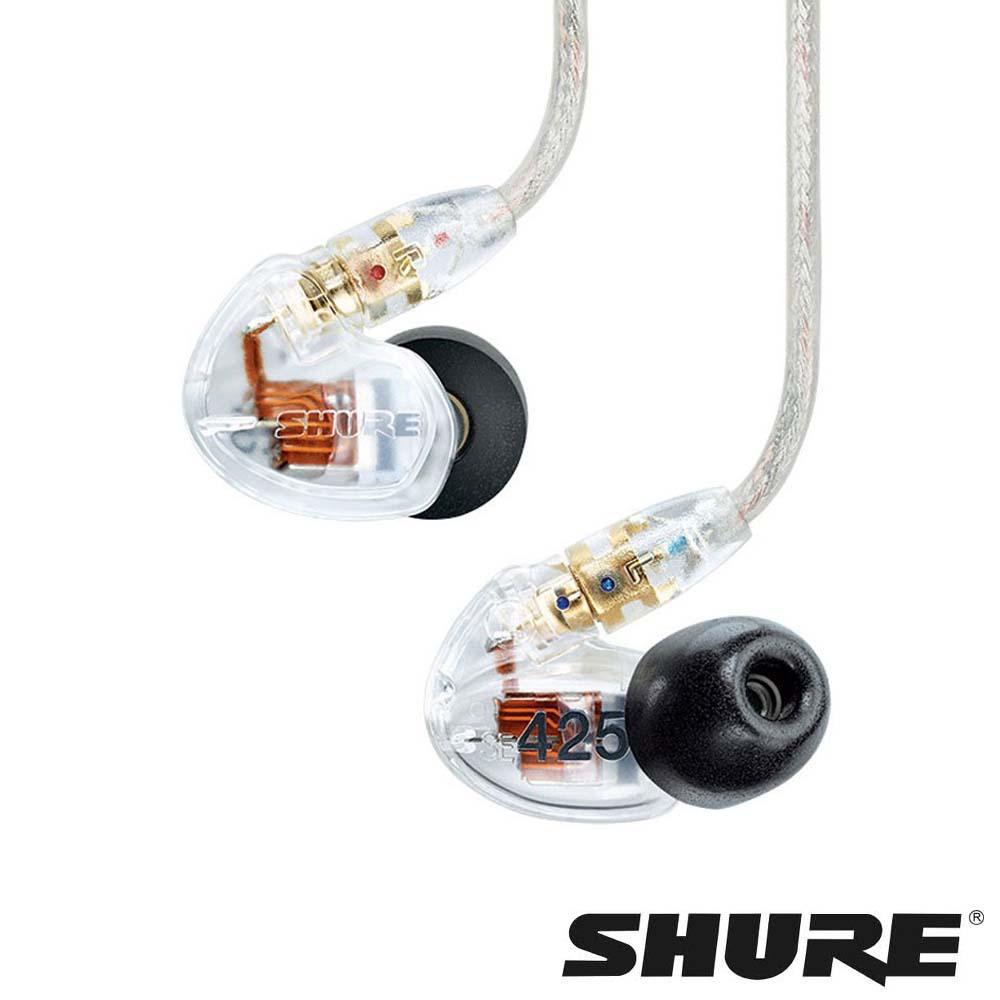 SHURE SE425 專業監聽 雙單體 隔音設計入耳式耳機