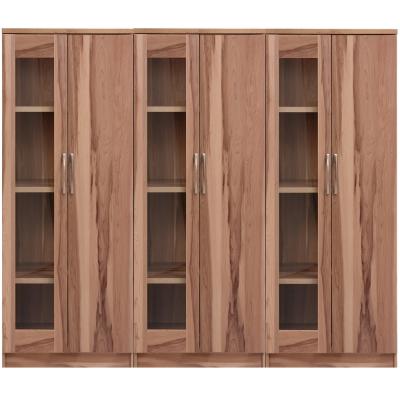 【aaronation】雷思克設計師180~240cm半玻璃收納櫃-量身訂製系統家具