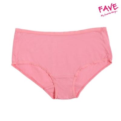 天絲棉中腰無痕平口褲-玫瑰粉(M~XL)