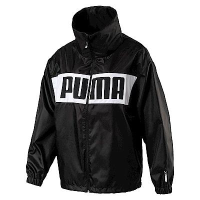 PUMA-女性基本系列URBAN風衣外套-黑色-亞規