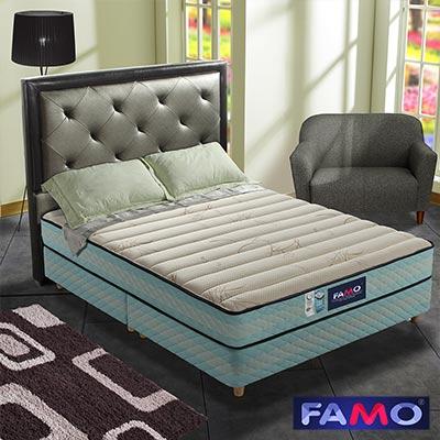法國FAMO二線 CF系列 硬式獨立筒床墊 涼感紗+Coolfoam記憶膠 雙人5尺