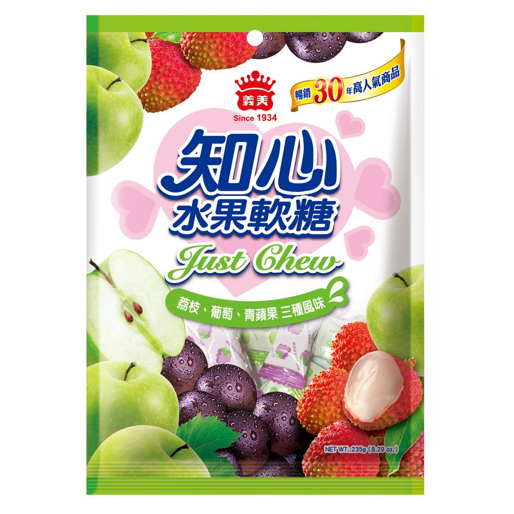 義美 酸甜知心水果軟糖(235g)