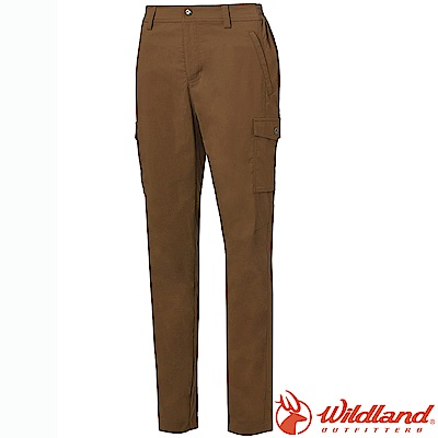 Wildland 荒野 0A61303-63深卡其 女日本紗Supplex長褲