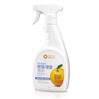 橘子工坊家務清潔劑-玻璃/硬面專用480ml