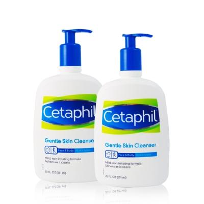 Cetaphil舒特膚 溫和清潔乳591ml (2入)
