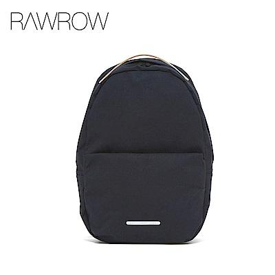 RAWROW-漫遊系列-13吋簡約蛋形後背包-墨黑-RBP223BK