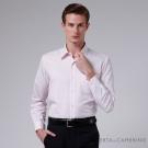 ROBERTA諾貝達 台灣製 嚴選穿搭 細條紋長袖襯衫 粉紅