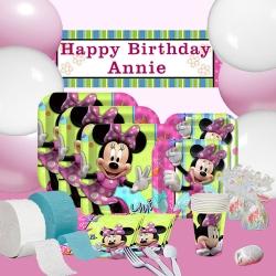 派對盒 PartyBox 生日派對懶人包 幸福米妮主題 8人基本派對盒