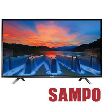 福利品 SAMPO聲寶 43吋 LED液晶顯示器+視訊盒 EM-43AK20D