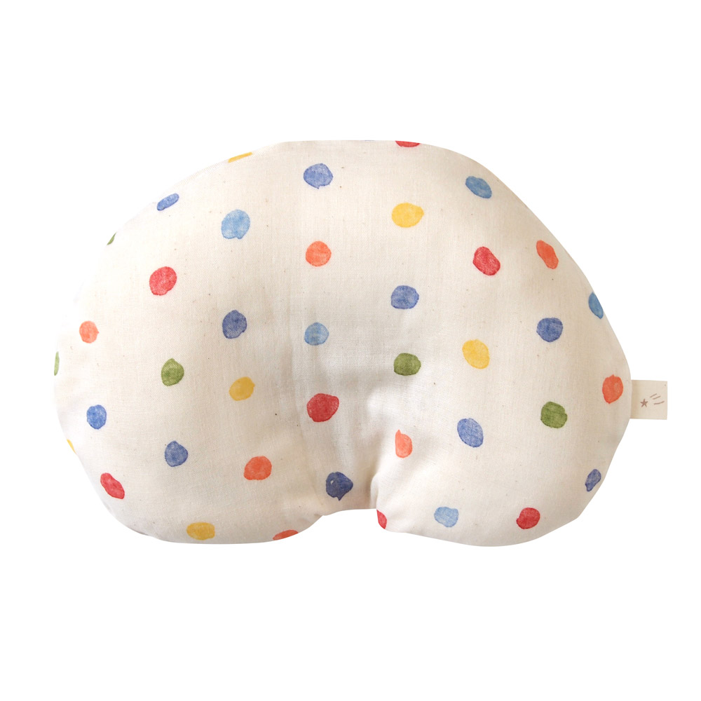 NAOMI ITO 彩虹波點多功能嬰兒枕(繽紛)