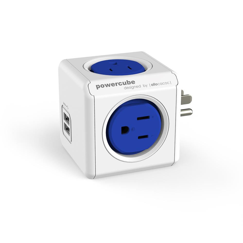 【限時下殺】PowerCube 魔術方塊 USB兩用擴充插座