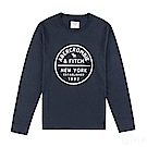 AF a&f Abercrombie & Fitch 長T 藍色 0475