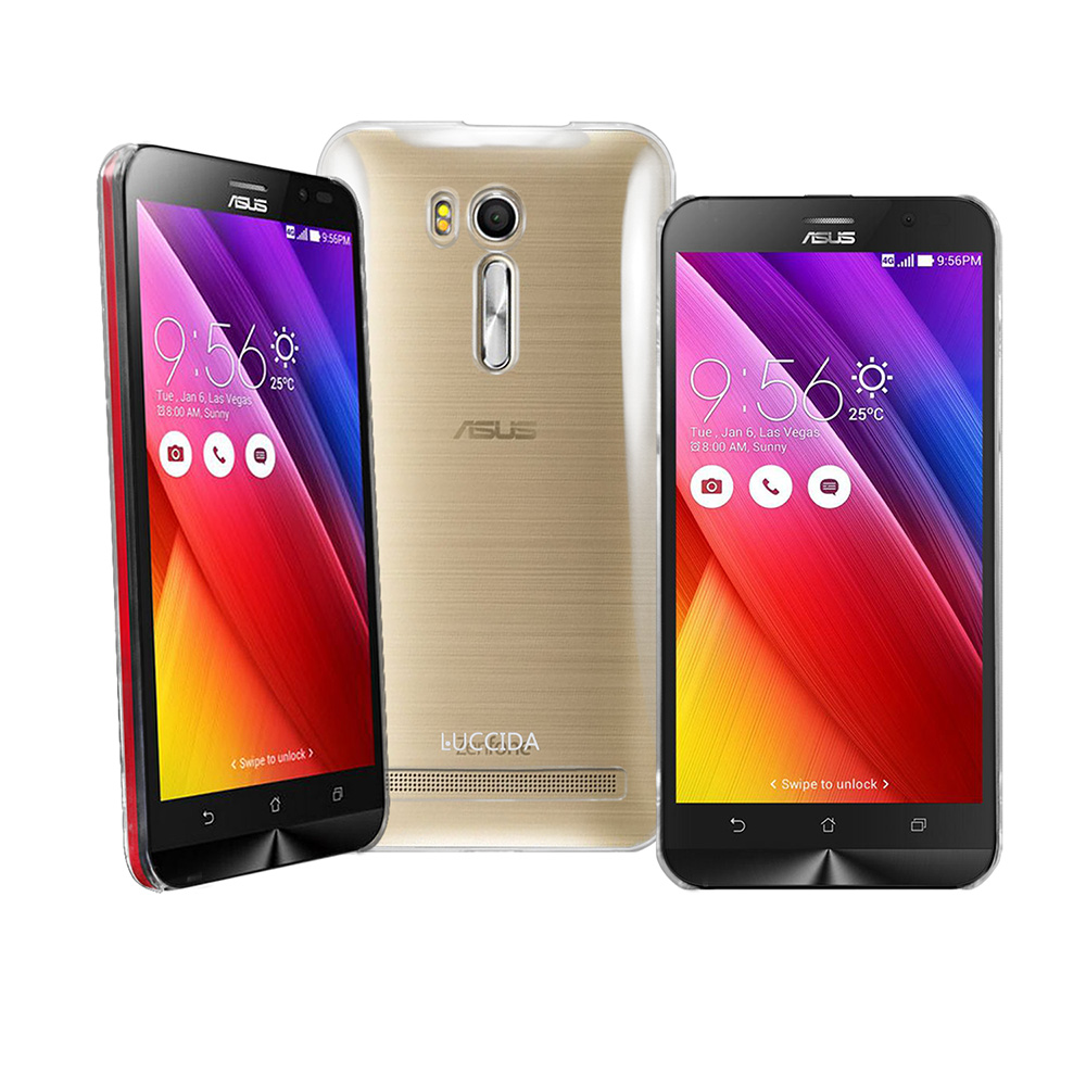 LUCCIDA ASUS ZenFone Go TV ZB551KL全透明加強抗刮保護殼