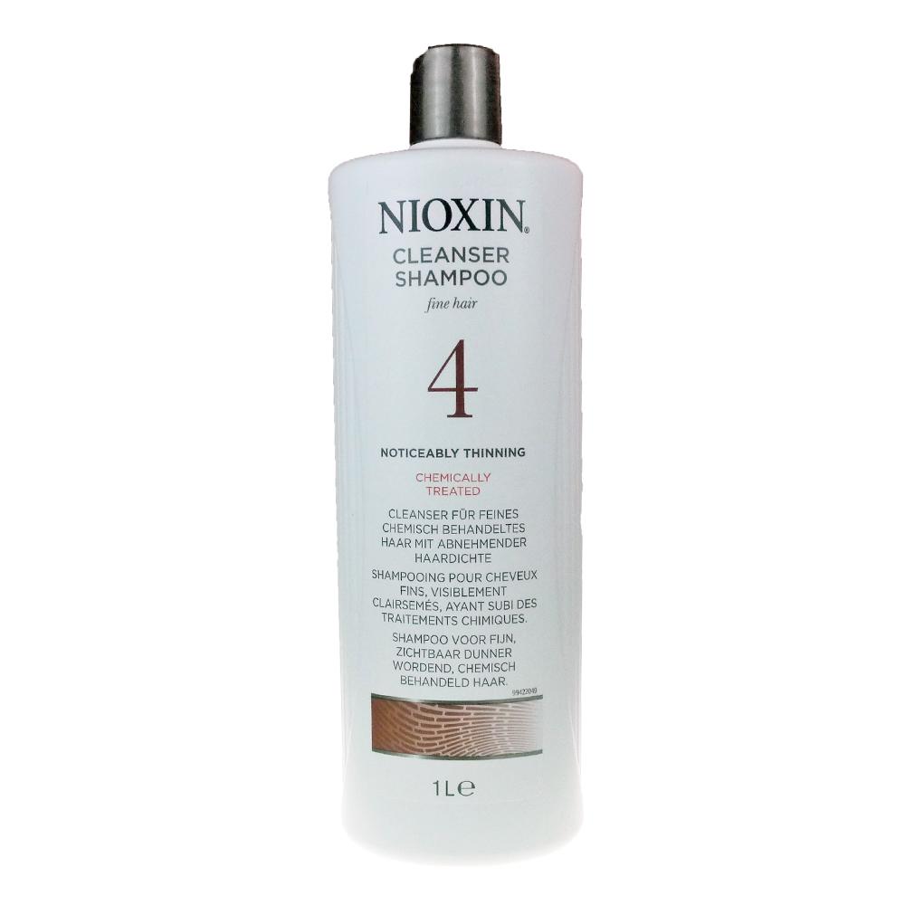 NIOXIN 耐奧森(儷康絲) 4號潔髮露 1000ML 公司貨