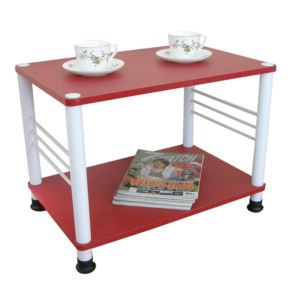 【MIT】寬60喜氣紅色邊桌(可選固定腳/活動腳)
