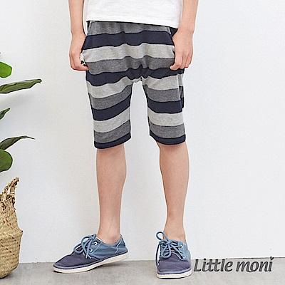 Little moni 條紋哈倫褲 (2色可選)