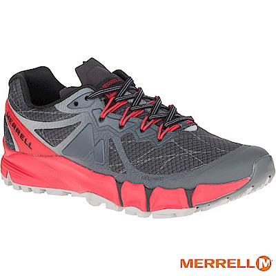 MERRELL AGILITYPEAKFLEX 野跑男鞋-黑紅(09645)