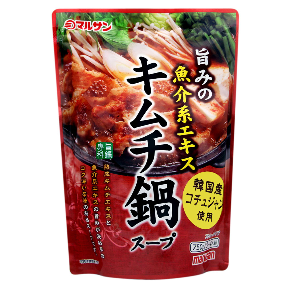 丸三 泡菜風味火鍋湯底(750g)