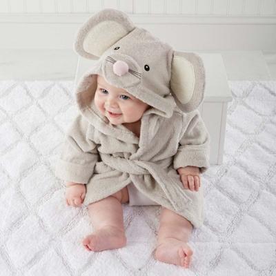 Baby Aspen 小小老鼠嬰兒浴袍彌月禮組