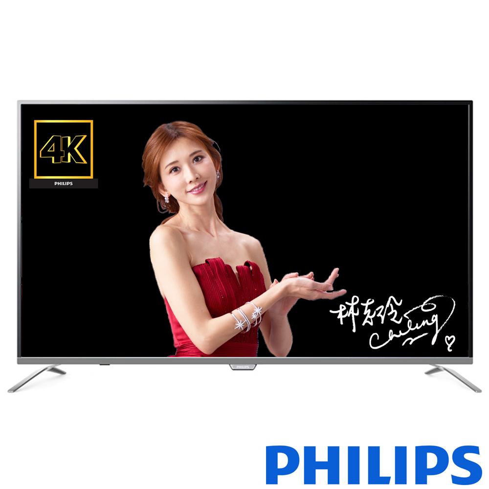 PHILIPS飛利浦 49吋4K UHD聯網液晶顯示器+視訊盒49PUH7052