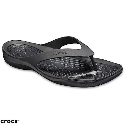Crocs 卡駱馳 (女鞋) 激浪女士人字拖 204974-060