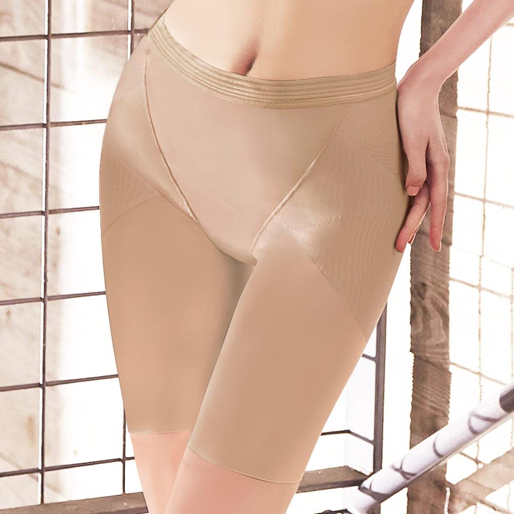 曼黛瑪璉-2014SS  高腰中管束褲(渡假膚)