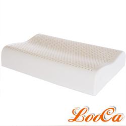 LooCa 特大型頂級HT工學型乳膠枕 2入