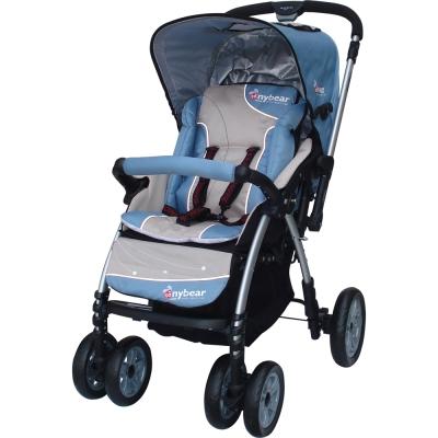 湯尼熊-Tony-Bear-歐式雙向秒縮嬰兒推車
