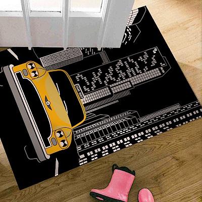 范登伯格 - 大藝術家 進口地毯 - 計程車 (60 x 100cm)