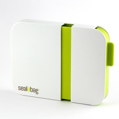英國Sealabag 塑膠袋封口機-綠 + 膠帶補充包 x3