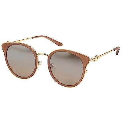 Salvatore Ferragamo 水銀面 太陽眼鏡(金色)SF899SK