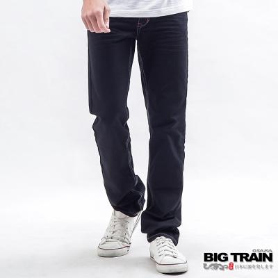 BIG-TRAIN-赤青小直筒-男-黑色