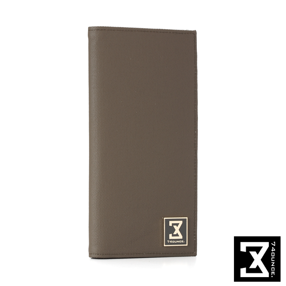 74盎司 皮夾 FIT時尚系列-防潑水時尚長夾[N-327] 軍綠