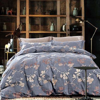 Grace Life 時尚貴族 精梳純棉加大兩用被床罩八件組