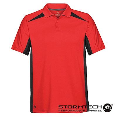 【加拿大STORMTECH】時尚經典透氣速乾POLO衫TXP-1-男-紅