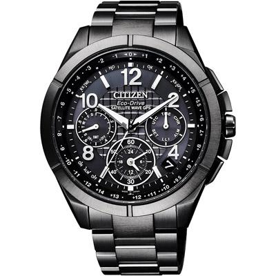 CITIZEN  宇宙報時站衛星對時腕錶-CC9075-52F-44mm