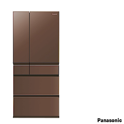 PANASONIC 國際牌600L六門變頻玻璃冰箱 NR-F603HX