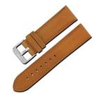 Watchband /義大利原裝進口微防水牛皮錶帶- 駝色