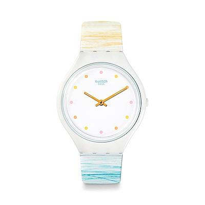 Swatch SKIN超薄系列 SKINESQUISSE 超薄塗鴉手錶